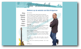 De website van The Bassbob - Bob Krijgsman
