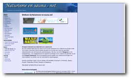 Naturisme en sauna-website